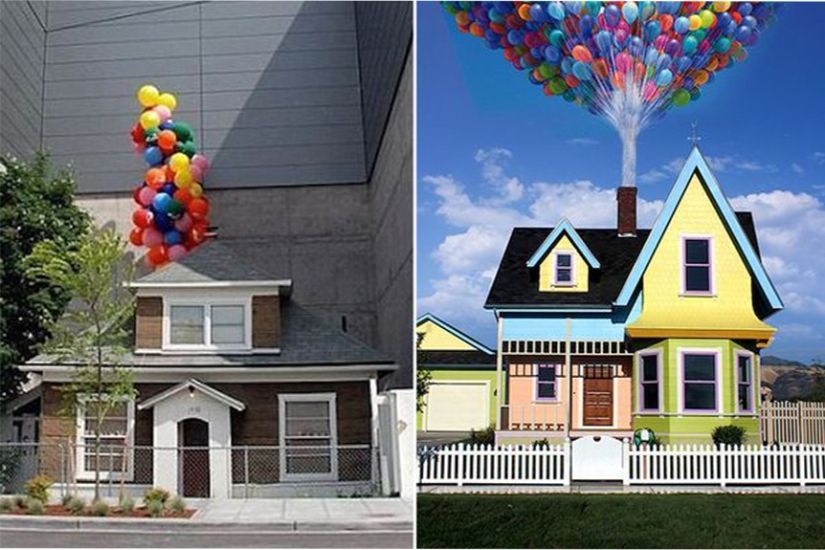 Edith-Macefields-house-and-Disneys-Up-house