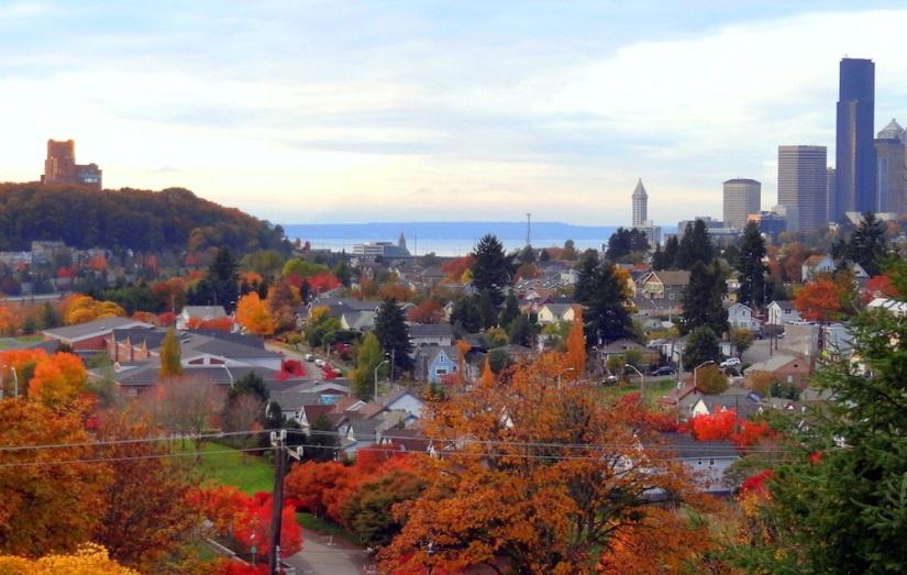 Mt. Baker Ridge Viewpoint, Seattle